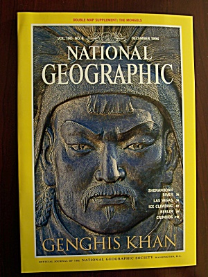 National Geograhic, Volume 190, No. 6, December 1996