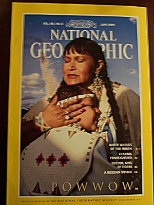 National Geographic, Volume 185, No. 6, June 1994