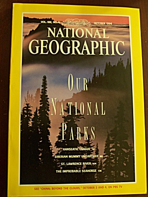 National Geographic, Volume 186, No. 4, October 1994