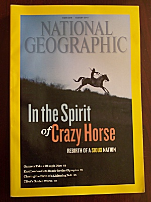 National Geographic, Volume 222, No. 2, August 2012