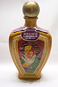 "Bean's ""beethoven"" Bottle/decanter"