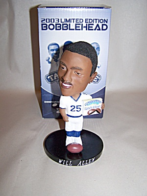 Will Allen Football Player Bobblehead