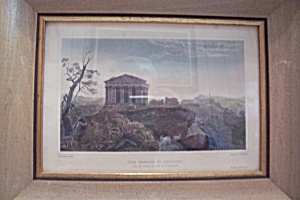 The Temple Of Concord Print
