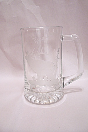Rogue River Souvenir Crystal Glass Beer Mug