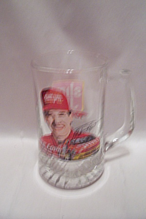 Slim Jim Mike Cope Crystal Glass Racing Beer Mug