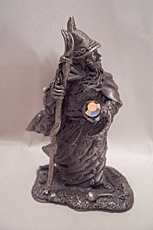 The Wizard Of Autumn Pewter Sculpture