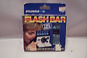 Package Of Two-pack Sylvania Blue Dot Flash Bars