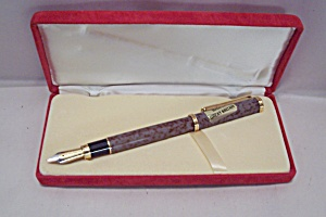 L' Plume Fountain Pen With Red Velvet Case