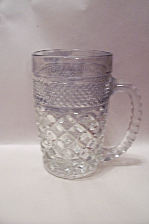 Fire King/anchor Hocking Wexford Pattern Glass Mug