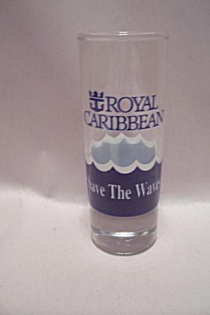 Royal Caribbean Liquor Glass