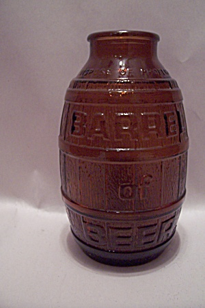 Amber Bottle Of Beer Glass Bottle