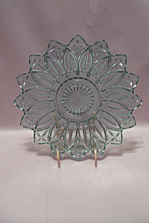 Light Blue Glass Serving Dish/centerpiece