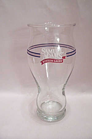 Samuel Adams Boston Lager Hand Blown Beer Glass