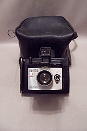 Polaroid Square Shooter 2 Instant Land Camera W/case