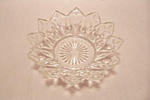 Pair Of Opalescent Crystal Glass Salad/dessert Bowl