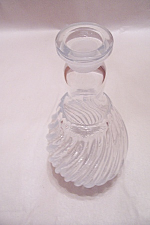 Crystal Pattern Glass Decanter