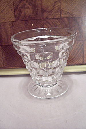 Fostoria American Pattern Crystal Glass Footed Cocktail