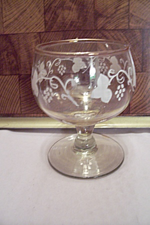 Crystal Glass Decorated Stemware Claret/wine Glass
