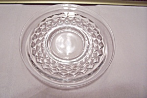 Fostoria American Pattern Crystal Glass Saucer