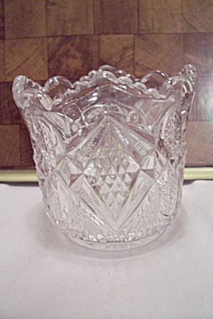 Fostoria Crystal Pattern Glass Vase