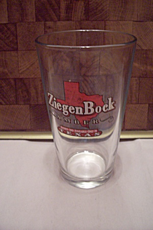 Crystal Ziegen Bock Amber Beer Glass