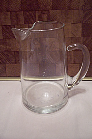 Fostoria Contour Crystal Glass Quart Pitcher