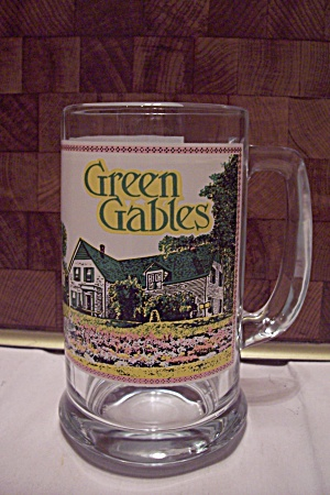Canadian Souvenir Green Gables Glass Beer Mug