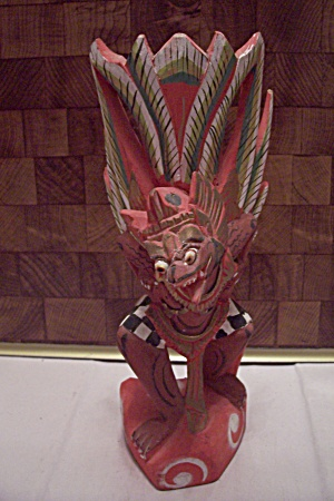 Balinese Spiritual Wood Carving