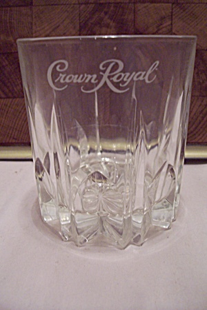 Crystal Crown Royal High Ball Glass