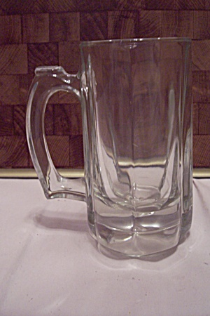 Crystal Glass 6-sided Beer Mug