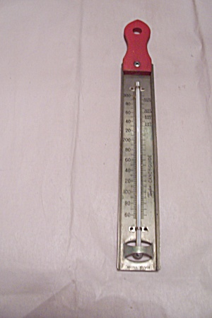 Taylor Red Handled Candy Cooking Thermometer