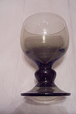 Very Light Green Glass Goblet