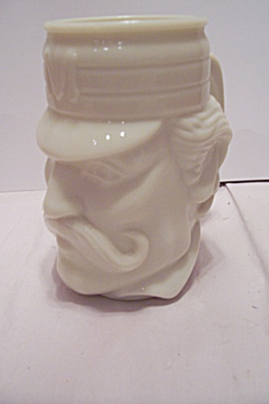 Avon Milk Glass Beer Mug