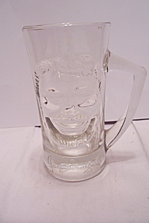 Joe Flanigan's Crystal Glass Beer Mug