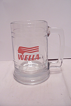 Wella Crystal Glass Mug