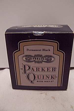 Parker Quink Permanent Black Ink