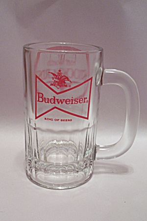 Budweiser Fort Worth Stockyards Crystal Glass Mug