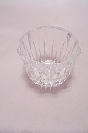 Crystal Glass 12-sided Toothpick Holder