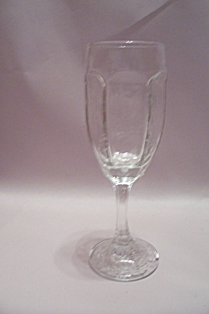 Crystal 6-sided Champagne Glass