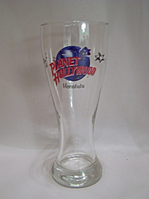 Planet Hollywood Honolulu Crystal Drink Glass