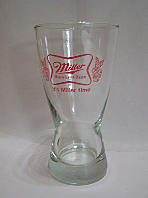Miller Crystal Beer Glass