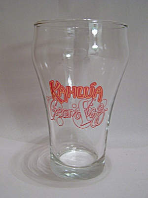 Crystal Kahlu'a Drink Glass