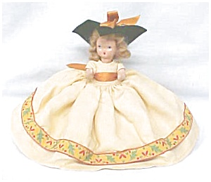 Nancy Ann Storybook Doll Hp Autumn Dress