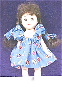 Virga Playmate Doll Brunette 1954 Pigtails
