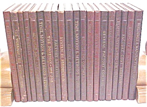Lincoln Factory Service Books 20 Vols 1941