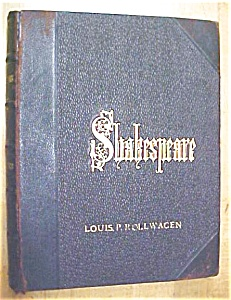 Shakespeare Works Histories Leather 1879