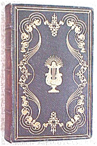 William Cowper Poetical Works Leather 1800's