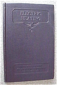Electric Heating Leather 1937 International Textbook