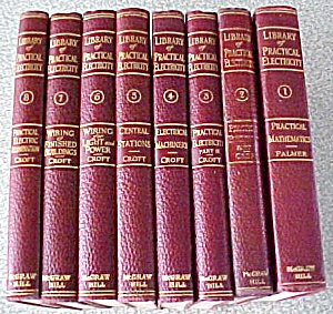 Library Of Practical Electricity 8 Vols 1917