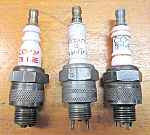 Spark Plugs Vintage Twin-fire Tri-fire